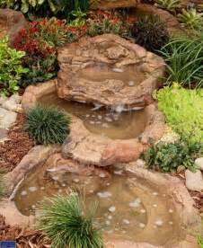 backyard waterfalls kits small rock garden spillway pond preformed backyard