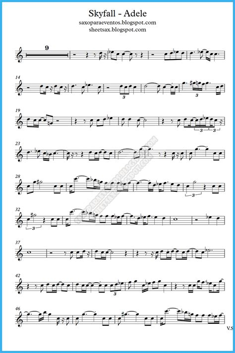song free score and backing track playalong of skyfall by