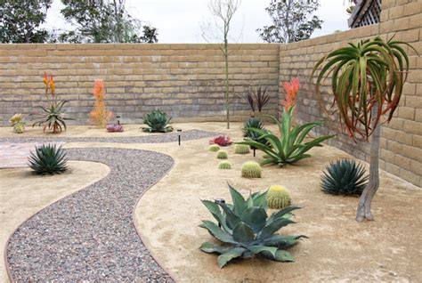 Desert Rock Garden Ideas Rock Pathway In Xeroscape Garden Southwestern Landscape Orange County By Shelley Gardea