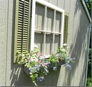 Faux Window by Faux Window Window Box With Shutters Fun Way To Add
