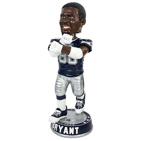 x bobblehead dallas cowboys 36 quot exclusive bryant x bobblehead mens