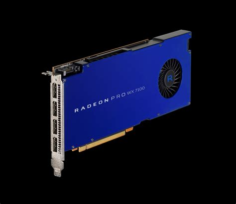 Amd Radeon Pro Wx 7100 amd announces radeon pro wx series most affordable pro solutions