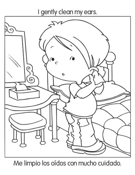 good preschool coloring pages good manners preschool coloring pages