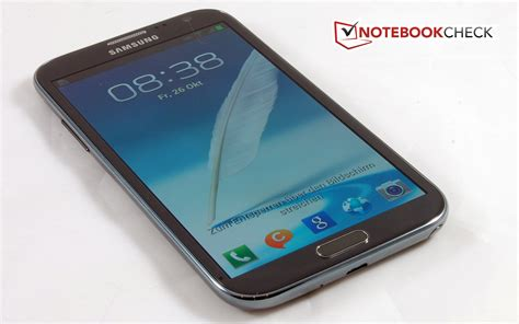 review samsung galaxy note ii gt n7100 smartphone notebookcheck net reviews