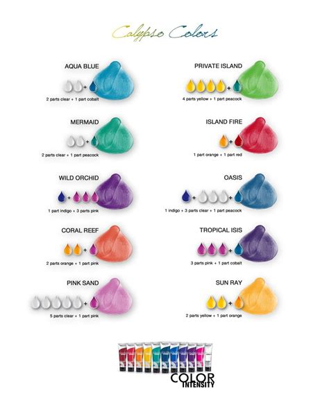 joico color chart joico vero k pak color intensity calypso colors shade