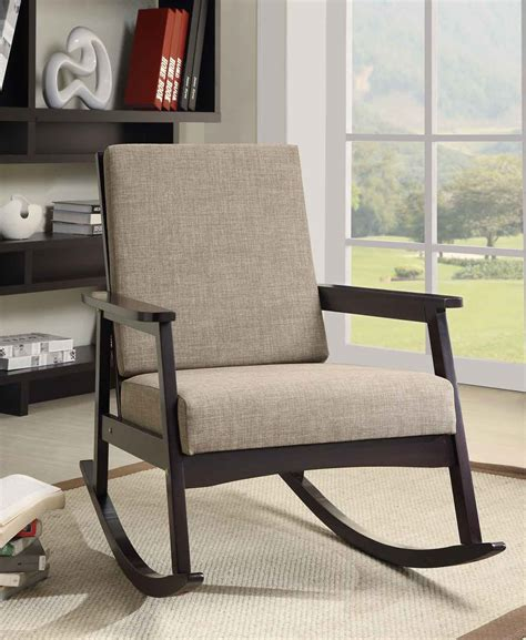 stylish chairs for living room getting the stylish modern rocking chair for your comfy