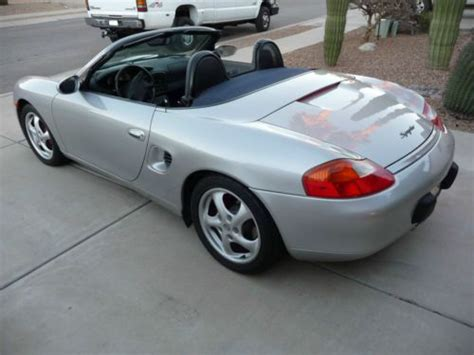 porsche boxster stats sell used 1998 porsche boxster convertible in tucson