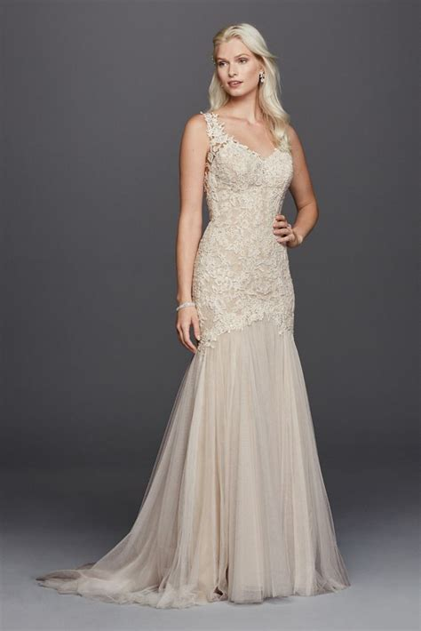 beaded venice trumpet wedding dress style swg723 ebay