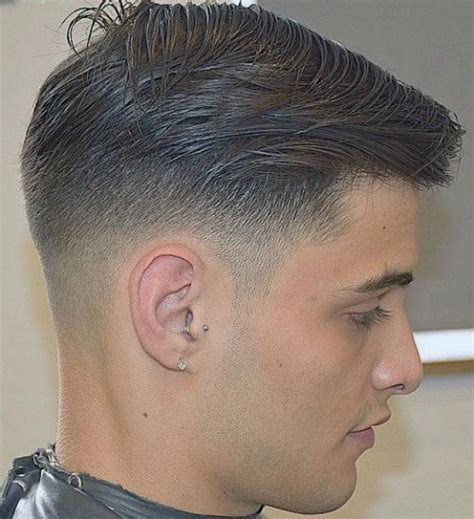 low hair on head 40 top taper fade haircut for men high low and temple