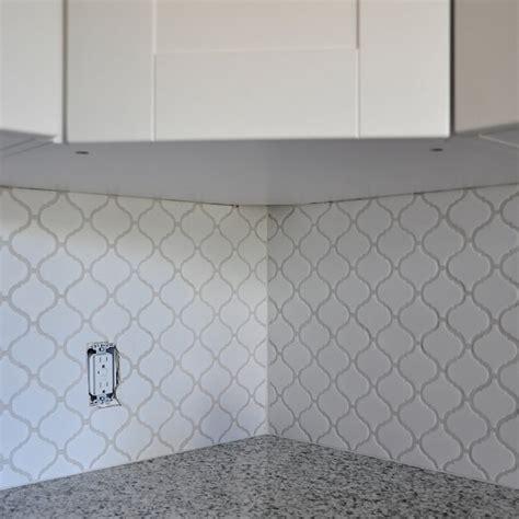 White Kitchen Backsplash Tile Ideas How To Install Kitchen Backsplash Tile Wayfair