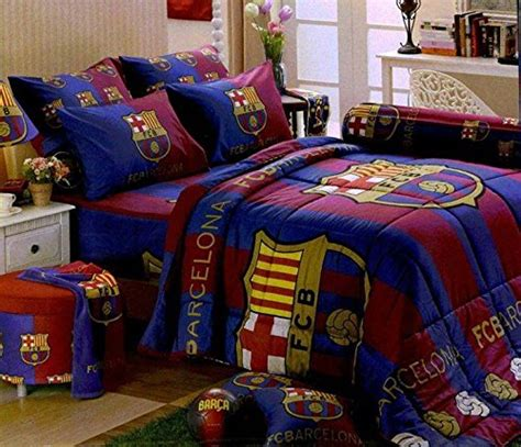 Fc Barcelona Bed Set Barcelona Football Club Official Licensed Bedding In Bag Set Size Bc001 1 Four Season