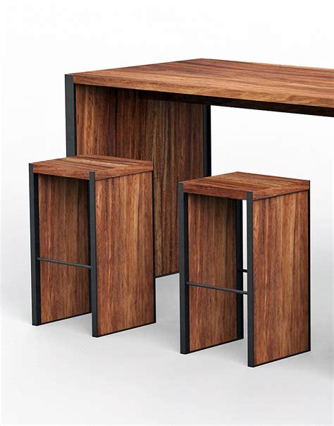 mesas y sillas para bar mesas y periqueras para bar madera parota artesanales cdmx
