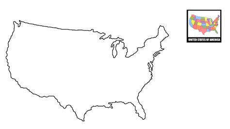 usa map drawing how to draw map of usa united states map