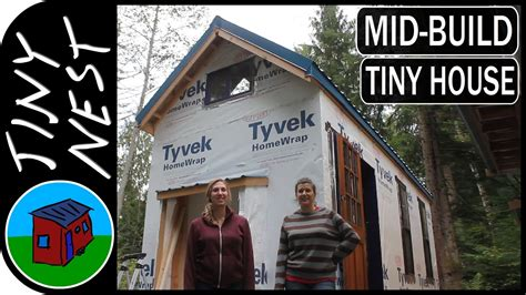 tiny house tour new addition youtube tiny house tour kirsten s quot wild rose quot part 2 youtube