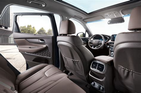 2019 Hyundai Santa Fe Interior by 2019 Hyundai Santa Fe Getting A Diesel Option Automobile