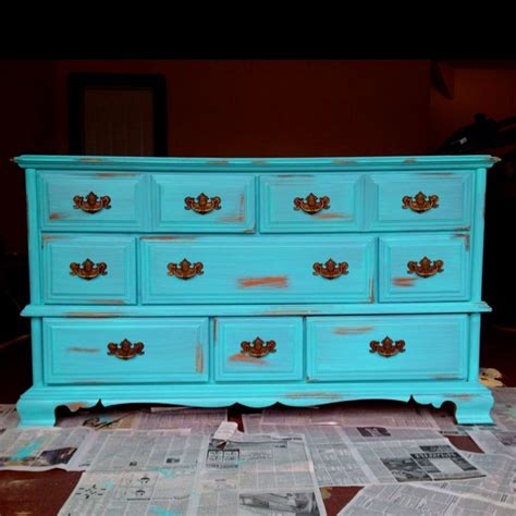 17 best ideas about teal painted dressers on