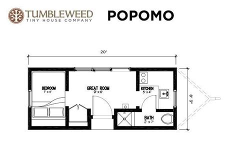 tumbleweed tiny house floor plans studio design