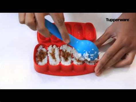 Tupperware Rock N Roll Sushi Maker resep nasi bola abon rock n roll