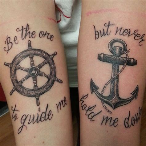matching anchor tattoos 100 appealing anchor designs and ideas for and