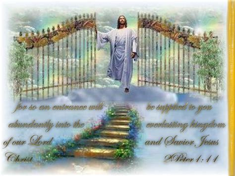 swing heaven canada free heaven jesus at the gate copy jpg phone wallpaper by