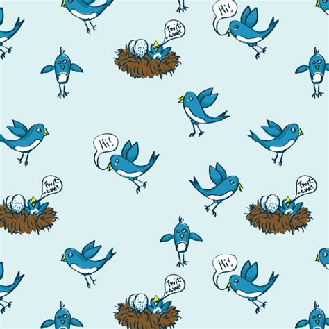 pattern from illustrator to photoshop twitter birds illustrator and photoshop pattern download