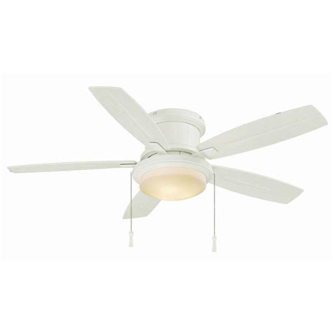 outdoor ceiling fans with led lights hton bay roanoke 48 in led indoor outdoor matte white