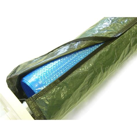 blue wave winter cover for 16 ft solar reel and blanket