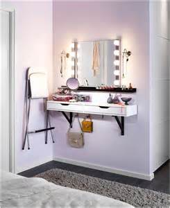 Makeup Vanity Shelf 10 Cool Ideas To Add A Makeup Area To Your Bedroom