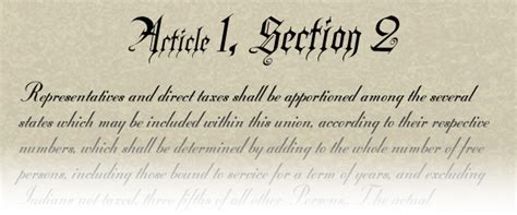 Us Constitution Article 1 Section 2 politics constitutional background to congressional and legislative redistricting