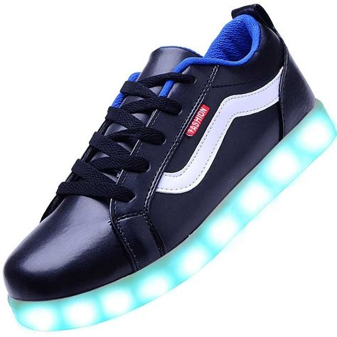 images of shoes for usb charging led shoes black vances sneakers