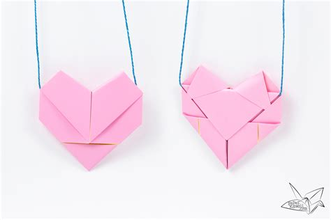 Shaped Origami Box - origami best origami hearts ideas on find my bookmarks