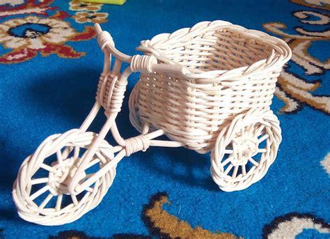 keranjang vas bunga sepeda kecil grosir keranjang
