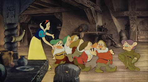 off to bed 100k snow white cels among animation auction lots animation magazine