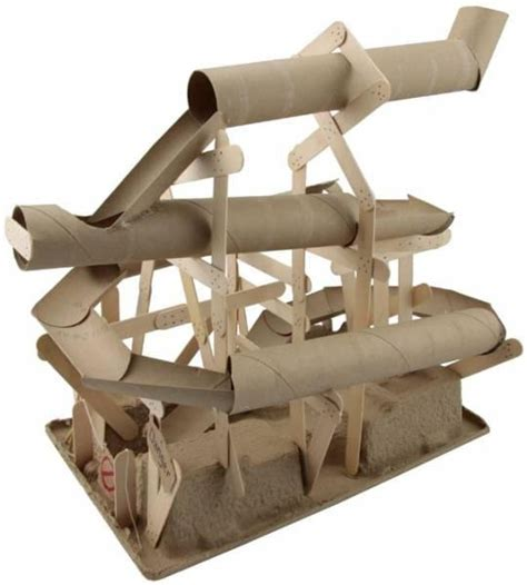 How To Make A Roller Coaster Out Of Paper - how to make a roller coaster out of cardboard box