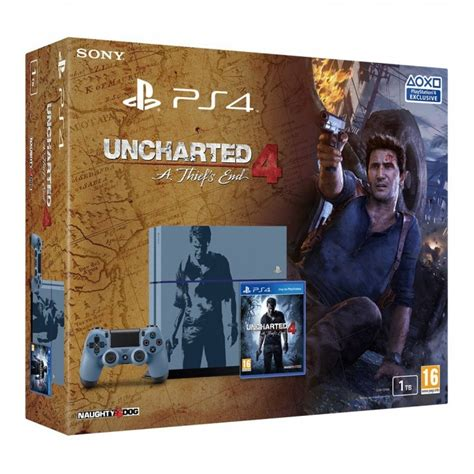 Ps4 Uncharted 4 Limited Tanpa uncharted 4 limited edition 500gb bundle us ps4