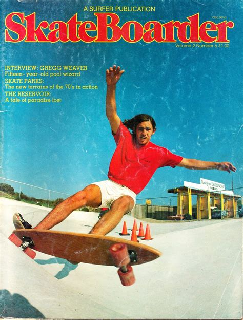 No 6 Vol 2 skateboarder magazine vol 2 no 6 vintage skateboarding