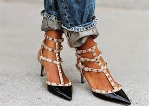 Home Design Bloggers the look for less valentino rockstud shoes fashion