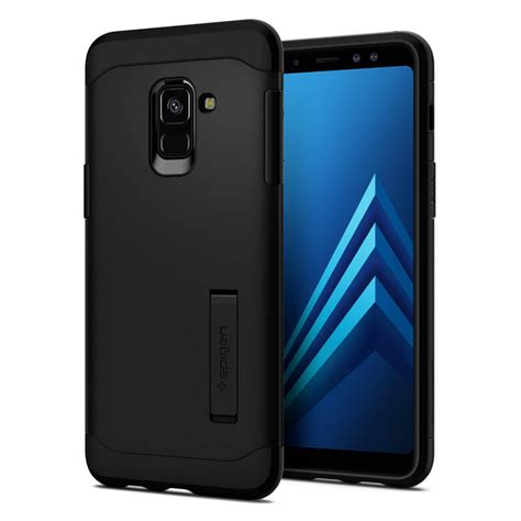 spigen 174 liquid air 590cs22747 samsung galaxy a8 2018 matte black spaceboy