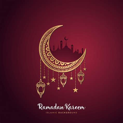 ramadan kareem greeting card template ramadan kareem greeting card vector free