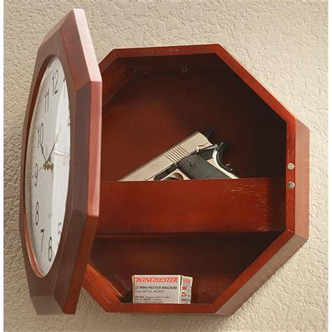 hide a hexagon hide a gun clock 157576 gun cases at
