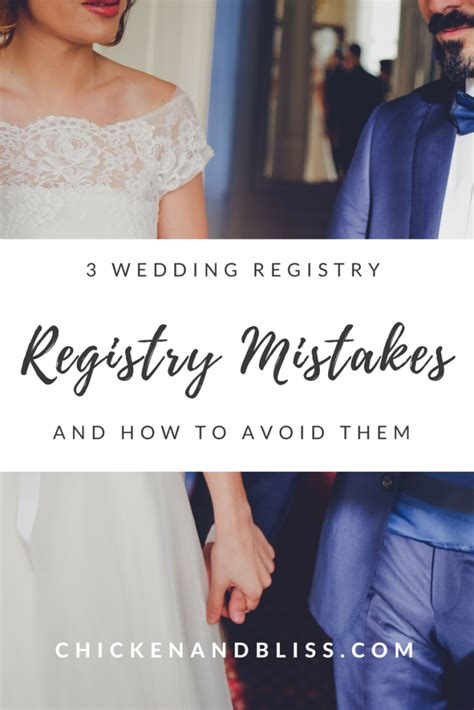Wedding Registry How To by 3 Wedding Registry Mistakes And How To Avoid Them