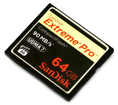 Memory Card Compact Flash Sandisk Pro Compactflash Memory Card Review