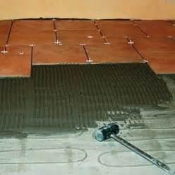 installation d une trame chauffante 233 lectrique au sol