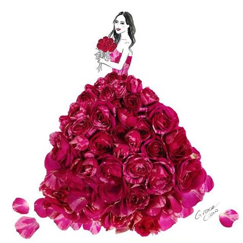21300 Purple Fashion Flower Size S 17 best images about ღ illustration by grace ciao ღ on