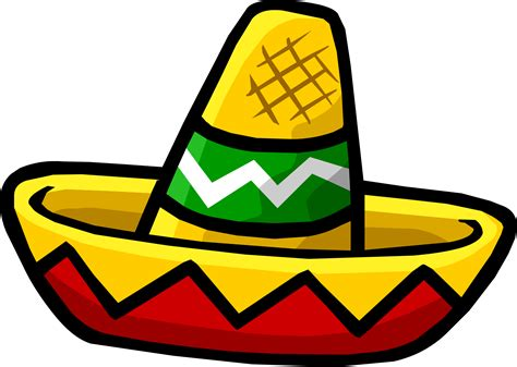 cartoon sombrero sombrero cliparts
