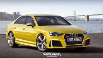 new audi rs4 sedan is one ride images new audi rs4