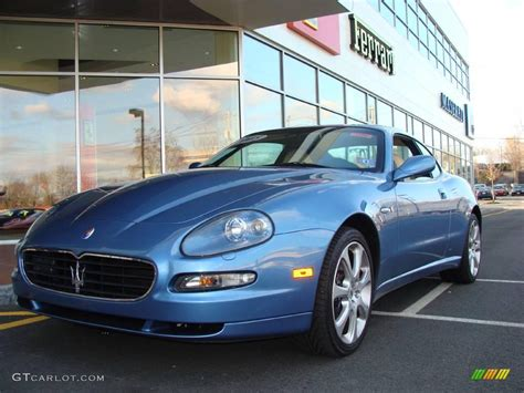 metallic maserati 2005 azzuro metallic blue maserati coupe