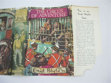 In The Circus Search For Adventure And The Circus Of Adventure Written By Blyton Enid Stock