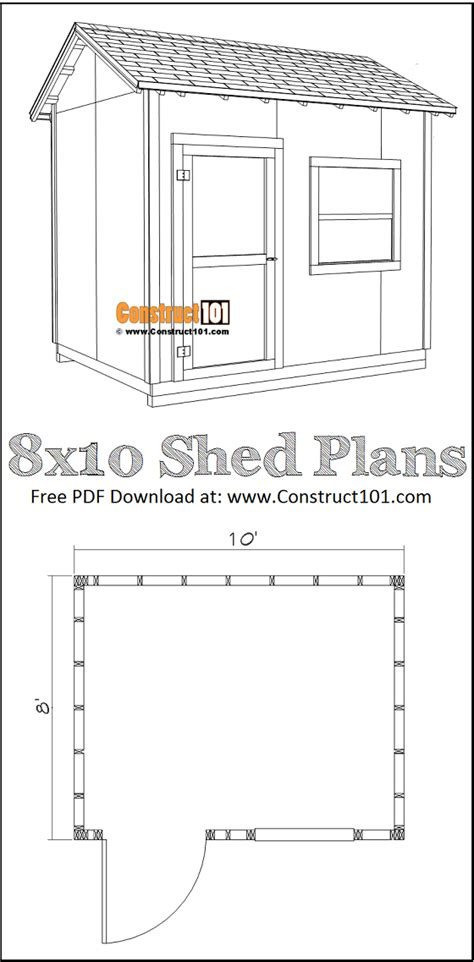 diy  gable shed   construct