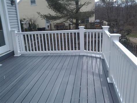 composite deck railing ideas  pinterest